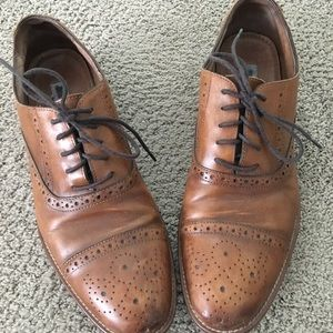 Johnston and Murphy cap toe Wing tips
